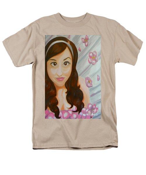 Men's T-Shirt  (Regular Fit) featuring the painting Marisela by Marisela Mungia