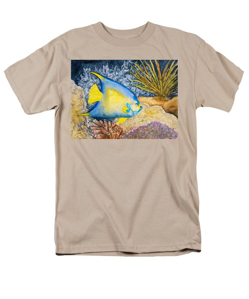 Martinique Angel Men's T-Shirt  (Regular Fit) by Patricia Beebe