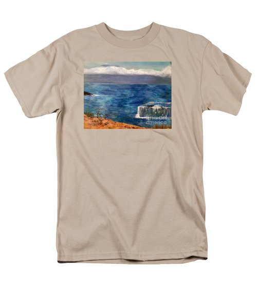 Men's T-Shirt  (Regular Fit) featuring the painting Frida Goes To Maui by Vanessa Palomino