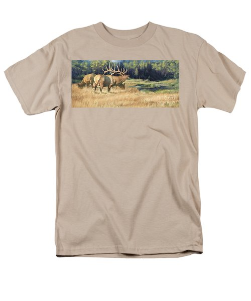 Men's T-Shirt  (Regular Fit) featuring the painting Meadow Music by Rob Corsetti