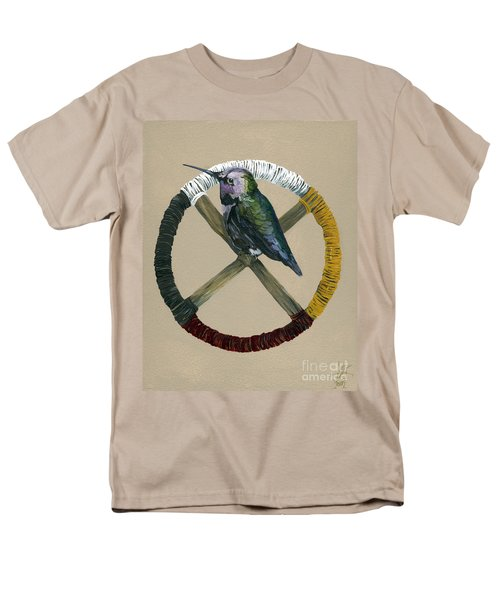 Medicine Wheel Men's T-Shirt  (Regular Fit) by J W Baker