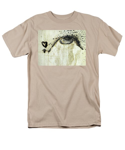 Men's T-Shirt  (Regular Fit) featuring the photograph Message From An Aspen by Lanita Williams