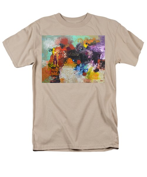 Moment Of Connection Men's T-Shirt  (Regular Fit) by Sally Trace