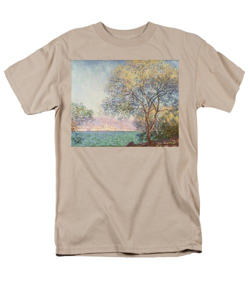 Morning At Antibes Men's T-Shirt  (Regular Fit) by Claude Monet