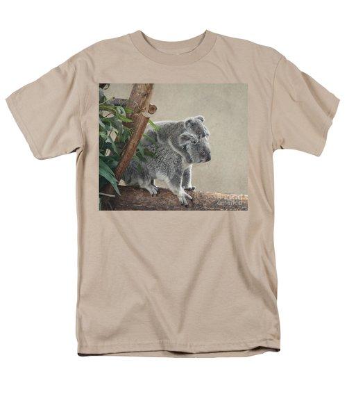 Mother And Child Koalas Men's T-Shirt  (Regular Fit) by John Telfer