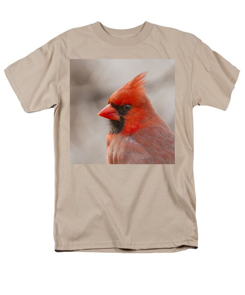 Mr Cardinal Portrait Men's T-Shirt  (Regular Fit) by Mircea Costina Photography