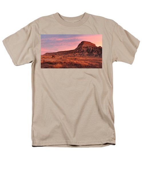 Men's T-Shirt  (Regular Fit) featuring the photograph Mt Garfield Sunrise by Ronda Kimbrow