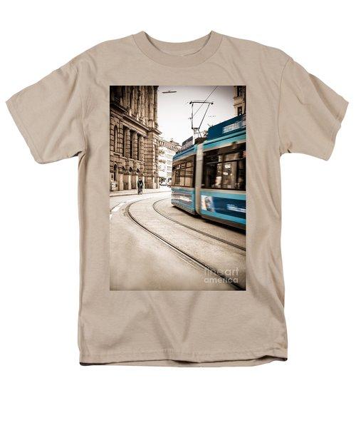 Munich City Traffic Men's T-Shirt  (Regular Fit) by Hannes Cmarits