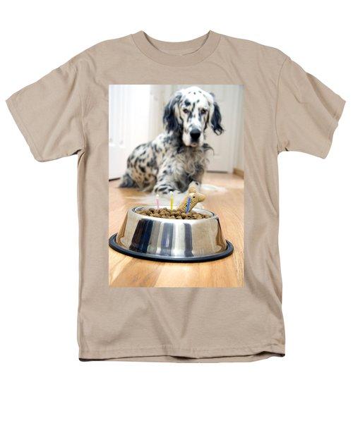 My Best Friend's Birthday Men's T-Shirt  (Regular Fit) by Alexey Stiop