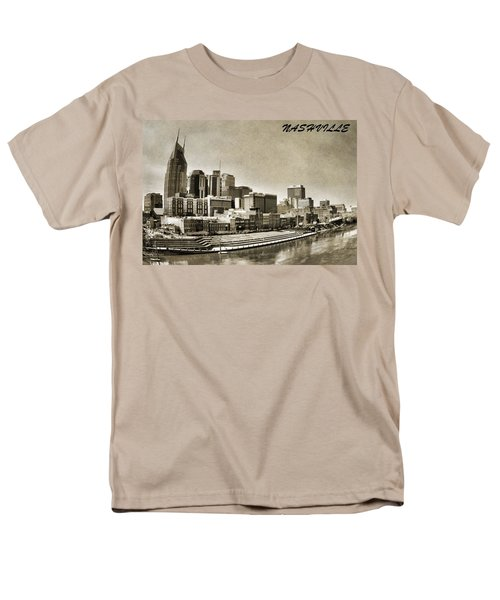 Nashville Tennessee Men's T-Shirt  (Regular Fit) by Dan Sproul