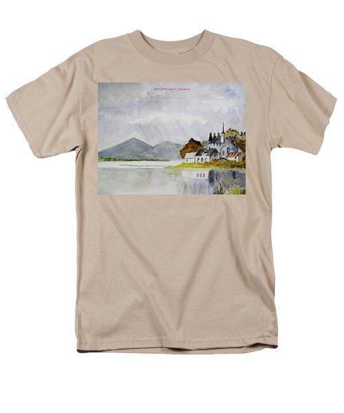 Nature's Painting Men's T-Shirt  (Regular Fit) by Sonali Gangane