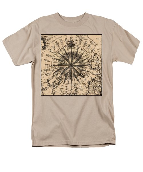 Men's T-Shirt  (Regular Fit) featuring the painting Nautical II by James Christopher Hill