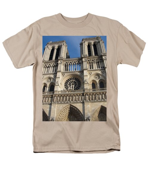 Men's T-Shirt  (Regular Fit) featuring the photograph Notre Dame by Tiffany Erdman