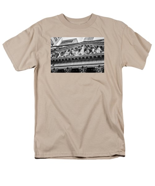 Nyse Men's T-Shirt  (Regular Fit) by Jerry Fornarotto