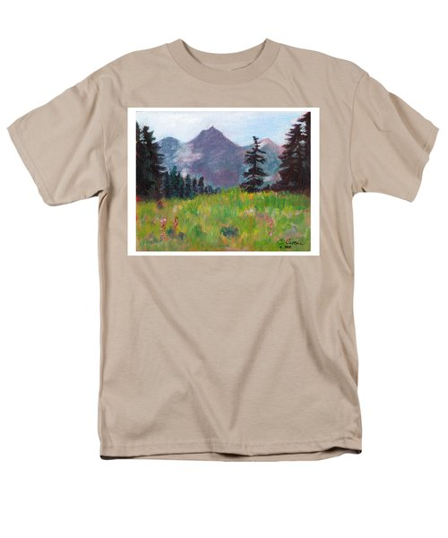 Off The Trail 2 Men's T-Shirt  (Regular Fit) by C Sitton