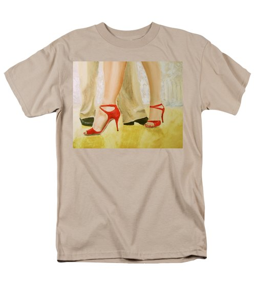 Oh Those Red Shoes Men's T-Shirt  (Regular Fit) by Keith Thue