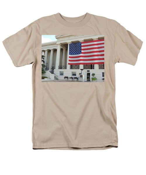 Men's T-Shirt  (Regular Fit) featuring the photograph Ol' Glory by Aaron Martens