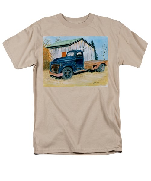 Men's T-Shirt  (Regular Fit) featuring the painting Old Blue by Stacy C Bottoms