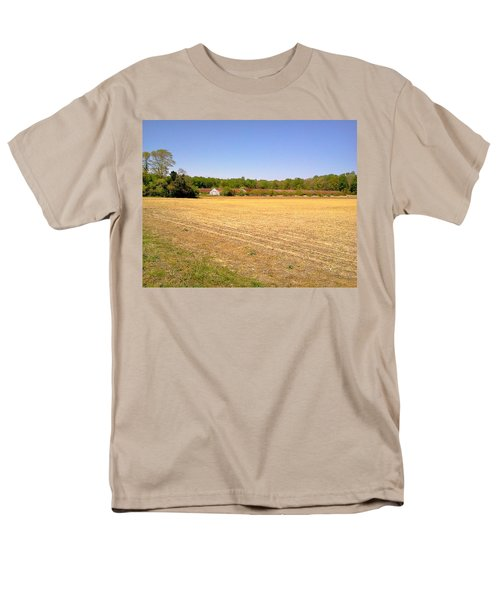 Old Chicken Houses Men's T-Shirt  (Regular Fit) by Amazing Photographs AKA Christian Wilson