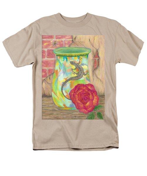 Old Crock And Rose Men's T-Shirt  (Regular Fit)