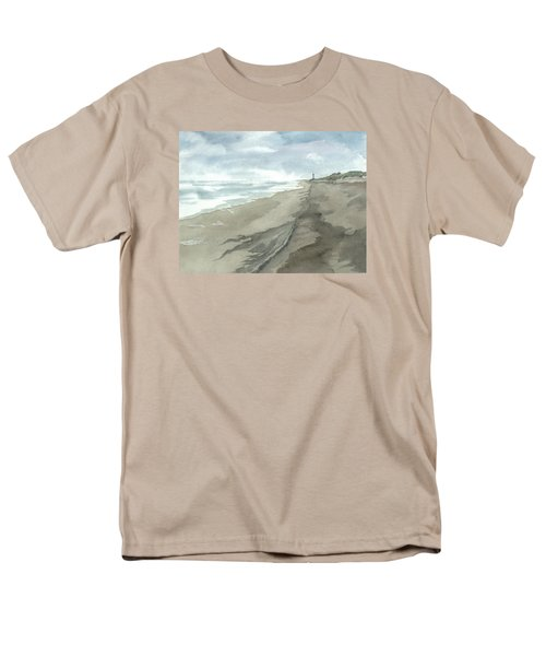 Old Hatteras Light Men's T-Shirt  (Regular Fit) by Joel Deutsch