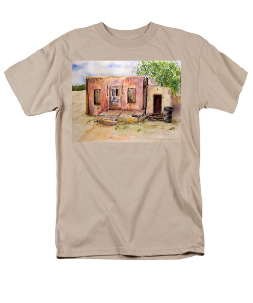 Old House In Clovis Nm Men's T-Shirt  (Regular Fit) by Vicki  Housel