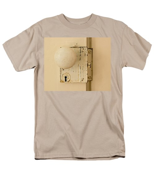 Old Lock Men's T-Shirt  (Regular Fit) by Photographic Arts And Design Studio