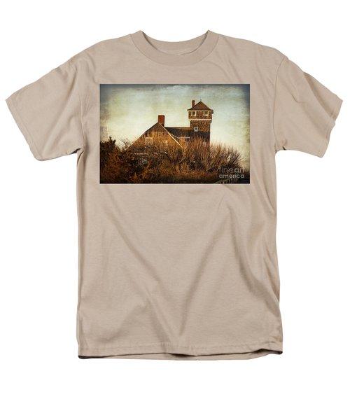 On The Hook  Men's T-Shirt  (Regular Fit) by Debra Fedchin