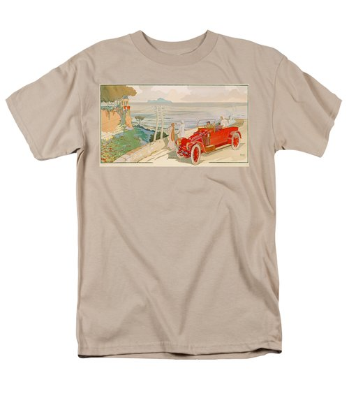 On The Road To Naples Men's T-Shirt  (Regular Fit) by Aldelmo