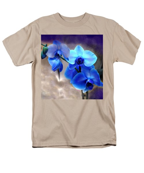 Men's T-Shirt  (Regular Fit) featuring the photograph Orchid Art by Wendy McKennon