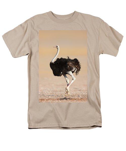 Ostrich Men's T-Shirt  (Regular Fit) by Johan Swanepoel