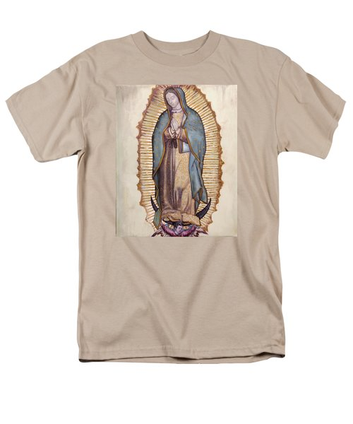 Our Lady Of Guadalupe Men's T-Shirt  (Regular Fit) by Richard Barone