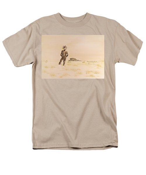 Out There Men's T-Shirt  (Regular Fit) by Michele Myers