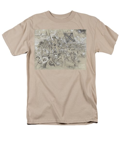 Over The Angle Men's T-Shirt  (Regular Fit) by Scott and Dixie Wiley