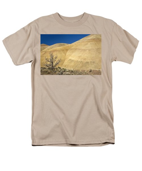 Men's T-Shirt  (Regular Fit) featuring the photograph Painted Hills Tree by Sonya Lang