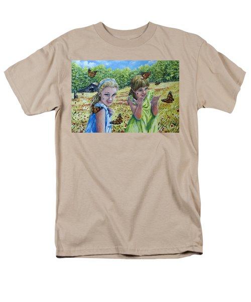 Painted Ladies Men's T-Shirt  (Regular Fit) by Gail Butler