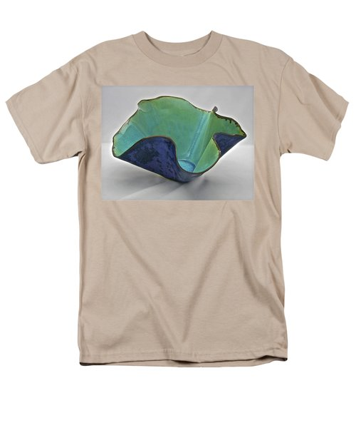 Men's T-Shirt  (Regular Fit) featuring the sculpture Paper-thin Bowl  09-006 by Mario Perron