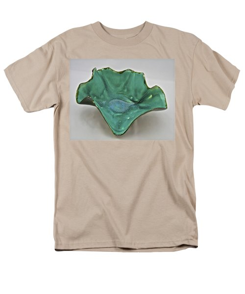 Men's T-Shirt  (Regular Fit) featuring the sculpture Paper-thin Bowl  09-009 by Mario Perron