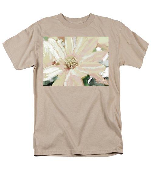 Pastel Daisy Photoart Men's T-Shirt  (Regular Fit) by Debbie Portwood