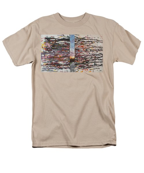 Pause Men's T-Shirt  (Regular Fit) by Thomasina Durkay
