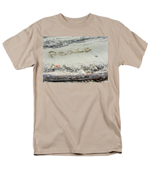 Peace On Earth Men's T-Shirt  (Regular Fit) by Melinda Fawver