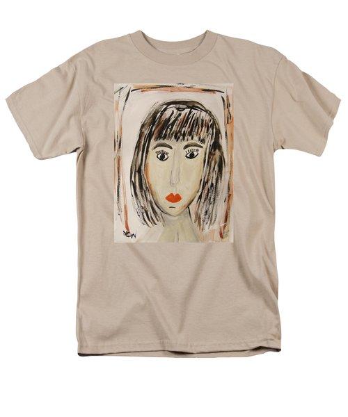 Pensive M.  Men's T-Shirt  (Regular Fit) by Mary Carol Williams