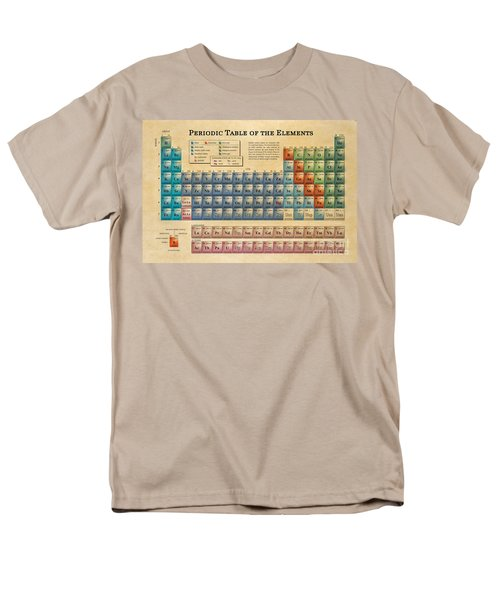 Periodic Table Of The Elements Men's T-Shirt  (Regular Fit) by Olga Hamilton