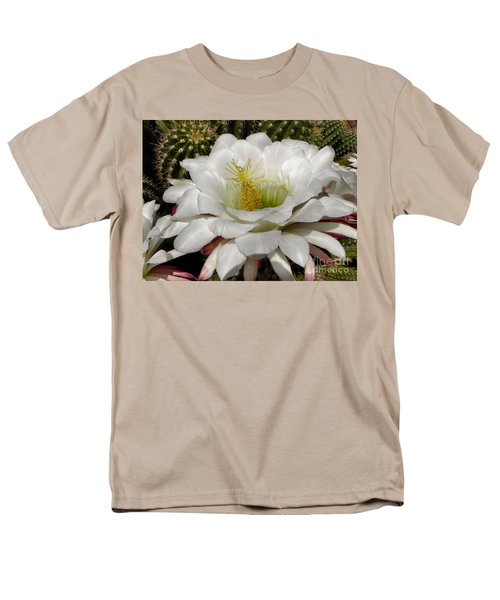 Men's T-Shirt  (Regular Fit) featuring the photograph Petals And Thorns by Deb Halloran