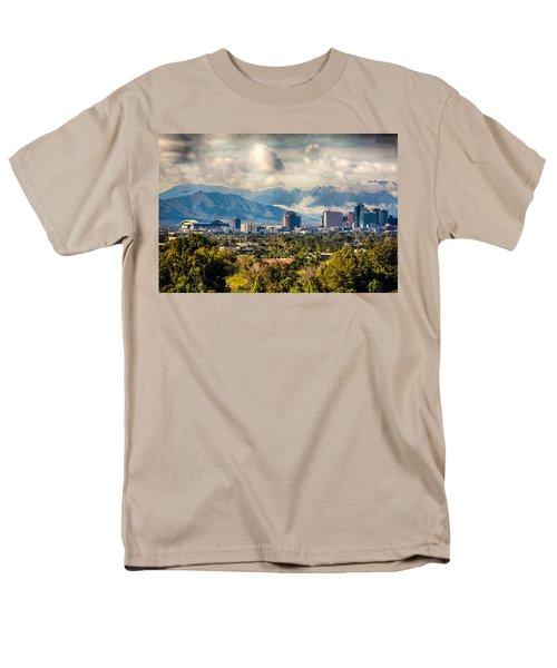 Phoenix Downtown Men's T-Shirt  (Regular Fit) by Fred Larson