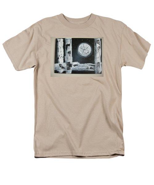Men's T-Shirt  (Regular Fit) featuring the painting Pie In The Sky by Sharyn Winters