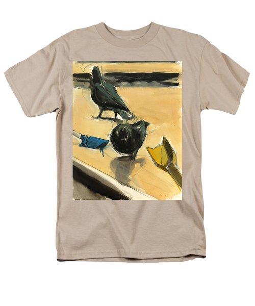 Pigeons Men's T-Shirt  (Regular Fit) by Daniel Clarke