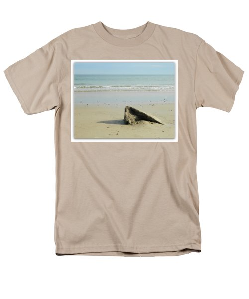 Pointed Rock At Squibby Men's T-Shirt  (Regular Fit) by Kathy Barney