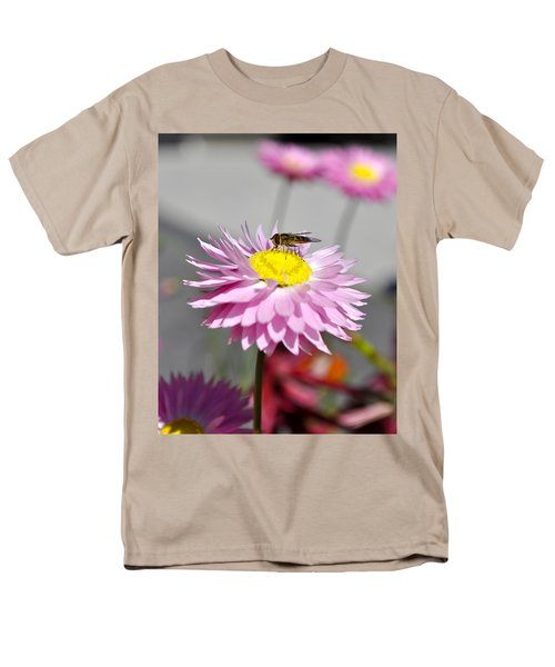 Men's T-Shirt  (Regular Fit) featuring the photograph Pollination by Cathy Mahnke
