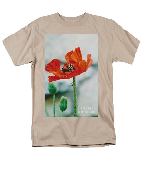 Poppy - 1 Men's T-Shirt  (Regular Fit)